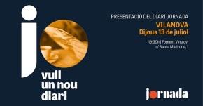"""Presentació del diari """"Jornada"""""""
